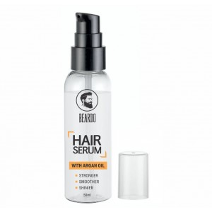 Buy Herbal Beardo Hair Serum Fights Graying Of Hair - With Argan Oil - Nykaa