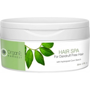 Buy Organic Harvest Hair Spa For Dandruff Free Hair - Nykaa