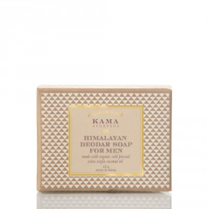 Buy Kama Ayurveda Himalayan Deodar Soap For Men - Nykaa