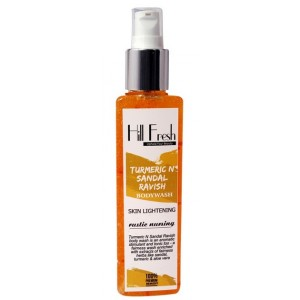 Buy Hill Fresh Turmeric N Sandal Ravish Body Wash - Nykaa