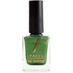 Buy Faces Hi Shine Nail Enamel -  Soul Mate Green - Nykaa