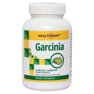 Buy HealthKart Garcinia Cambogia (60% HCA) 60 Capsules - Nykaa