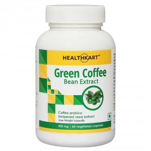 Buy HealthKart Green Coffee Bean Extract 60 Capsules - Nykaa