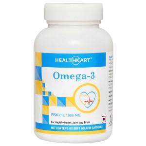 Buy Healthkart Omega 3 (60 Capsules) - Nykaa