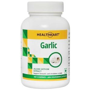 Buy HealthKart Garlic 60 Capsules - Nykaa