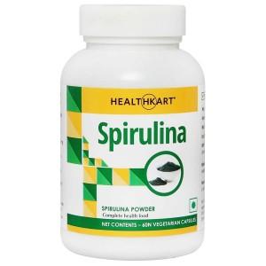 Buy HealthKart Spirulina 60 Capsules - Nykaa