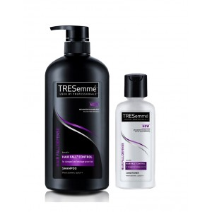 Buy Tresemme Hairfall Defense Shampoo 580 ml + 85 ml Conditioner - Nykaa