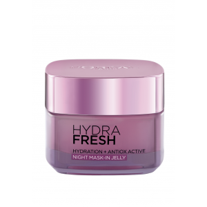 Buy L'Oreal Paris HydraFresh Hydration + Antiox Active Night Mask -in Jelly - Nykaa