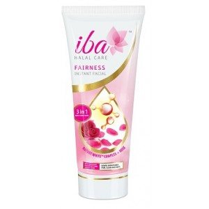 Buy Iba Halal Care Fairness Instant Facial (3 in1 Mask Scrub Wash) - Nykaa