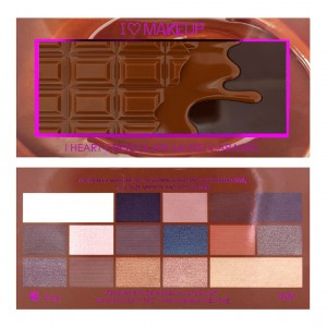 Buy Makeup Revolution I Heart Makeup Salted Caramel - Nykaa