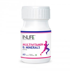 Buy INLIFE Multivitamin and MultiMinerals, 60 Tablets With Biotin For Men and Women - Nykaa