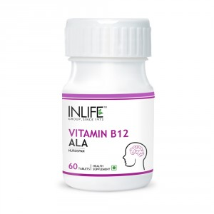 Buy INLIFE Vitamin B12 Alpha lipoic acid (ALA), 60 Tablets For Cognitive Memory Health - Nykaa