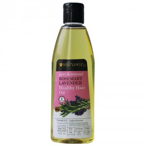 Buy Soulflower Rosemary Lavender Healthy Hair Oil - Nykaa