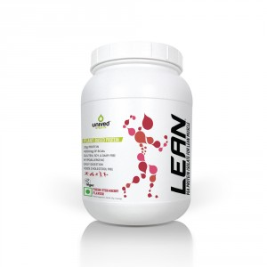 Buy Unived LEAN Pea Protein Isolate Powder - Strawberry - Nykaa