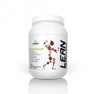 Buy Herbal Unived LEAN Pea Protein Isolate Powder - Ghana Chocolate - Nykaa