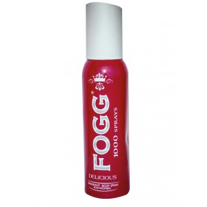 Buy Fogg 1000 Sprays Delicious Fragrance Body Spray - Nykaa