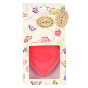 Buy Soap Opera Handmade Designer Plain Heart Soap - Nykaa