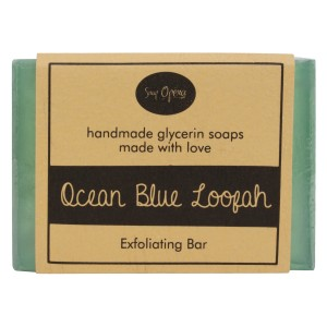 Buy Soap Opera Ocean Blue Loofah Exfoliating Bar - Nykaa