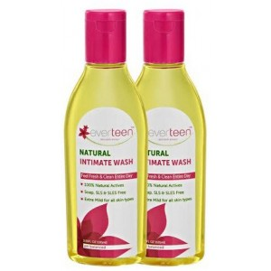 Buy Herbal Everteen Natural Intimate Wash (Buy 1 Get 1 Free) - Nykaa