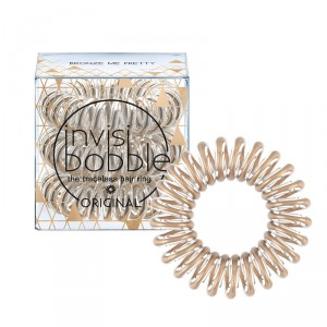 Buy Invisibobble Time To Shine Hair Ring - Bronze Me Pretty - Pack Of 3 - Nykaa