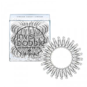 Buy Invisibobble Time To Shine Hair Ring - Chrome Sweet Chrome - Pack Of 3 - Nykaa