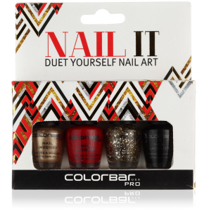 Buy Colorbar Nail IT Duet Yourself Nail Art - Nykaa