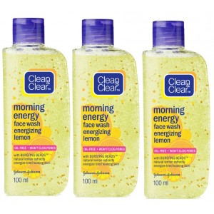 Buy Clean & Clear Morning Energy Combo - Lemon - Nykaa