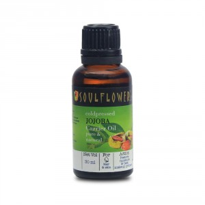 Buy Soulflower Jojoba Carrier Oil - Coldpressed - Nykaa