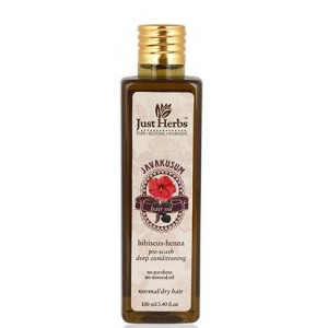 Buy Just Herbs Javakusum Hair Oil - Nykaa