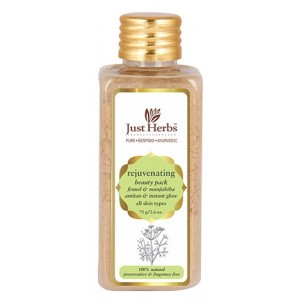 Buy Just Herbs Fennel And Manjishtha Rejuvenating Beauty Pack - Nykaa