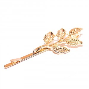 Buy Joker & Witch Gold plated metal leaves hair clip - Nykaa