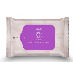 Buy Kaya Refreshing Mattifying Wipes - Acne Free (Pack Of 30) - Nykaa