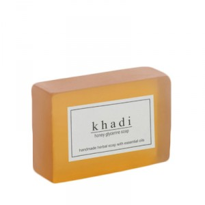 Buy Herbal Khadi Natural Honey Glycerine Soap - Nykaa