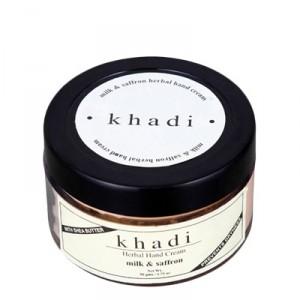 Buy Khadi Herbal Milk and Saffron Hand Cream  - Nykaa