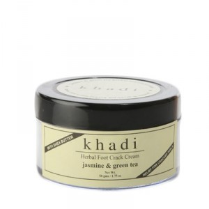 Buy Herbal Khadi Natural Jasmine Green Tea Foot Crack Cream - Nykaa