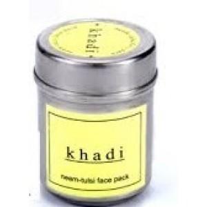 Buy Khadi Natural Neem Basil & Mint Face Pack - Nykaa
