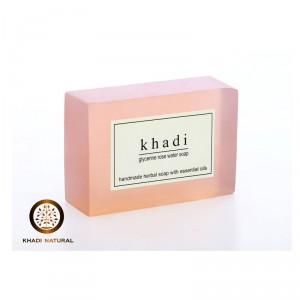 Buy Khadi Natural Rosewater Soap - Nykaa