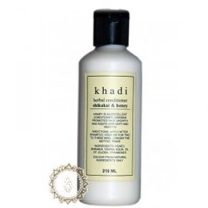 Buy Khadi Shikakai And Honey Herbal Hair Conditioner - Nykaa