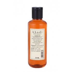 Buy Khadi Natural Sandalwood Massage Oil  - Nykaa