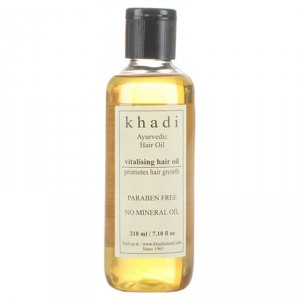 Buy Herbal Khadi Natural Vitalising Hair Growth Oil - Nykaa