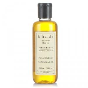 Buy Khadi Balsam Anti Dandruff Hair Oil - Nykaa