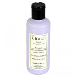 Buy Khadi Natural Lavender Fairness Lotion - Nykaa