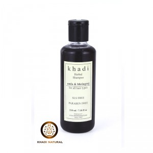 Buy Khadi Natural Amla & Bhringraj Shampoo (For Hair Growth) - Nykaa