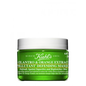 Buy Herbal Kiehl's Cilantro & Orange Extract Pollutant Defending Masque - Nykaa
