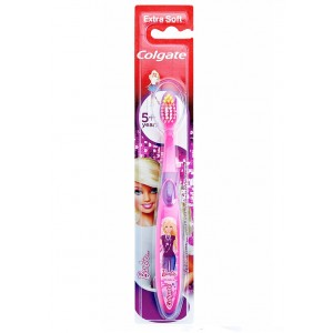 Buy Colgate Kids Barbie Toothbrush - Nykaa