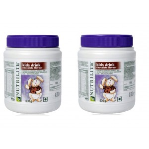 Buy Amway Nutrilite Kids Drink Chocolate - 500 grms, Pack of 2 - Nykaa