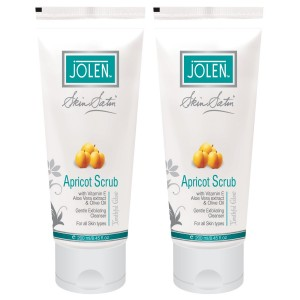 Buy Jolen Apricot Scrub - Twin Pack - Nykaa