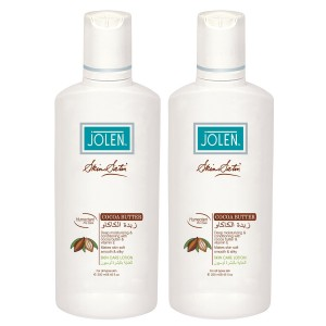 Buy Jolen Coca Butter Lotion Twin Pack - 500ml - Nykaa