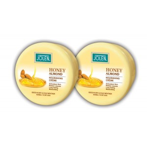 Buy Jolen Honey & Almond Cream Twin Pack - Nykaa