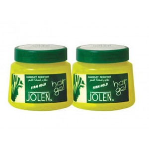Buy Herbal Jolen Firm Hold Hair Gel Twin Pack - Nykaa